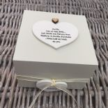 Shabby Personalised Chic Auntie Aunty Great Aunt Gift Trinket Box Jewellery Box - 253191092211